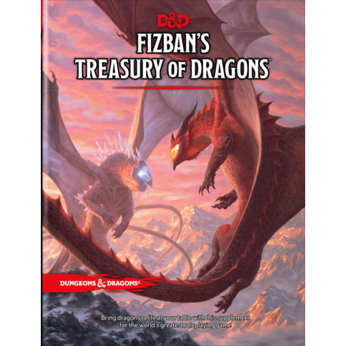 WotC - PREORDER- D&D 5E Fizban's Treasury of Dragons (NOVEMBER 2021)