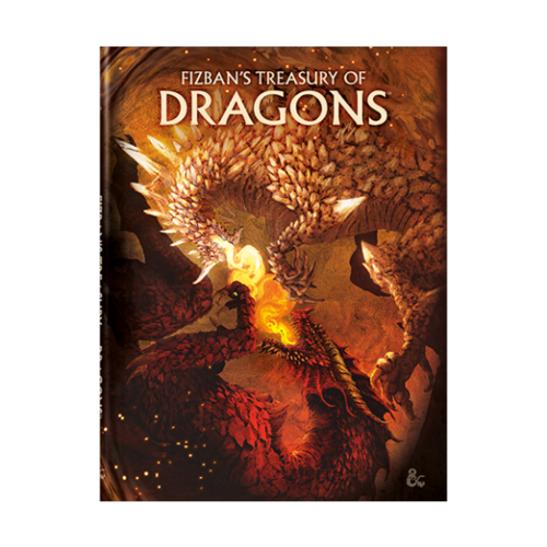 WotC - PREORDER- D&D 5E Fizban's Treasury of Dragons - Alternate Cover (NOVEMBER 2021)