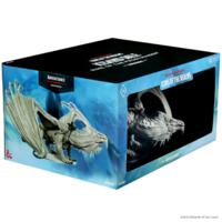 Arveiaturace (Gargantuan White Dragon, painted) - D&D Icewind Dale Premium Figure