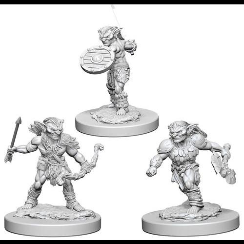 Wizk!ds Unpainted Miniatures- Goblins (5E)