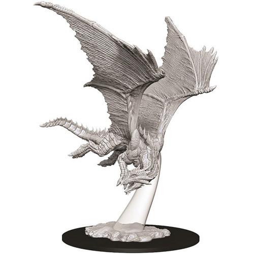 Wizk!ds Unpainted Miniatures- Young Bronze Dragon
