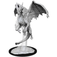 Unpainted Miniatures- Young Red Dragon