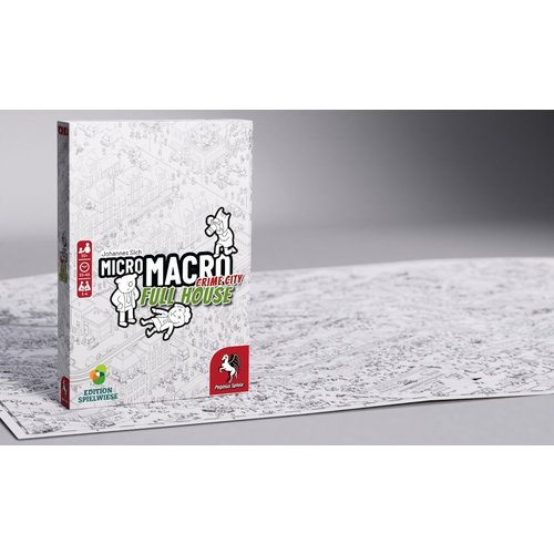 WGG Micromacro Crime City- Full House NL