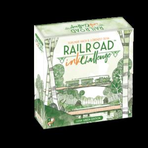 Railroad Ink Challenge - Lush Green Edition