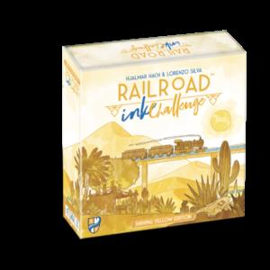 Railroad Ink Challenge - Shining Yellow Edition