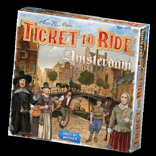Days of Wonder Ticket to Ride ENG- Amsterdam