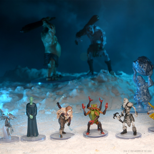 Wizk!ds D&D Icons of the Realm- Snowbound Booster