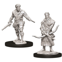 Unpainted Miniatures- Male Human Rogue