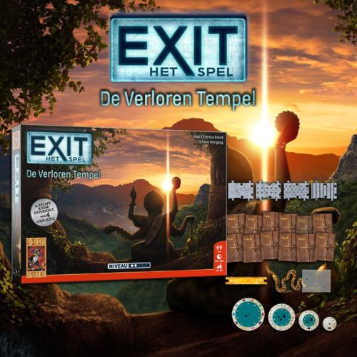 999 Games EXIT- De Verloren Tempel
