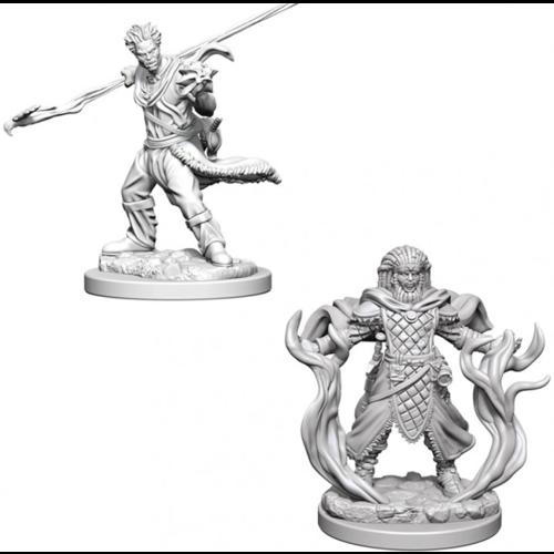 Wizk!ds Unpainted Miniatures- Human Male Druid
