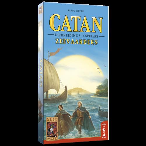 999 Games Catan- De zeevaarders 5/6 spelers