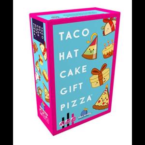 Blue Orange Taco Hat Cake Gift Pizza