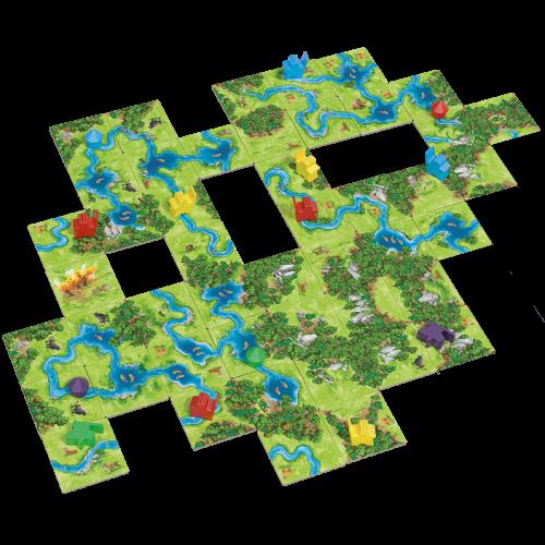 999 Games Carcassonne- Jagers & Verzamelaars