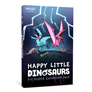 Tee Turtle Games Happy Little Dinosaurs- 5-6 player expansion