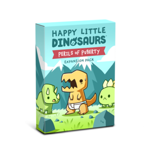 Tee Turtle Games Happy Little Dinosaurs- Perils of Puberty expansion