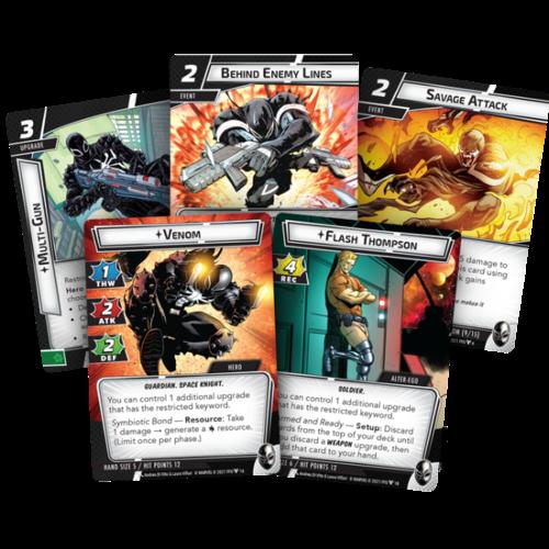 Fantasy Flight Marvel Champions LCG- Venom Hero Pack