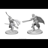 Unpainted Miniatures- Elf Male Ranger