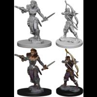 Unpainted Miniatures- Elf Female Ranger
