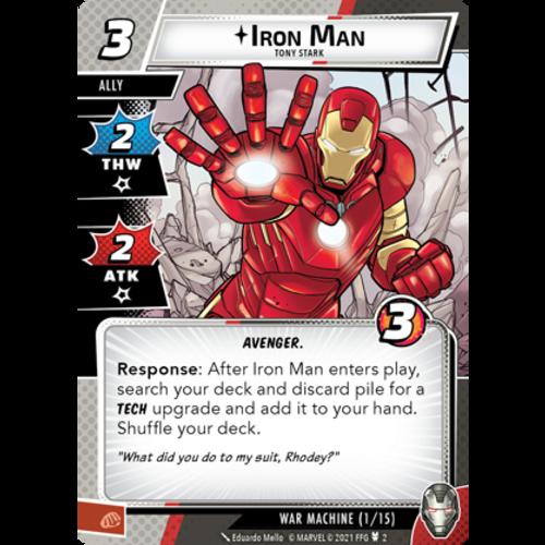 Fantasy Flight Marvel Champions LCG - Warmachine Hero Pack