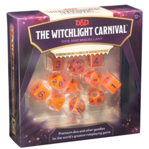 WotC - D&D Witchlight Carnival Dice