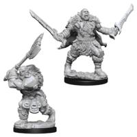 Unpainted Miniatures- Orcs (Pathfinder)