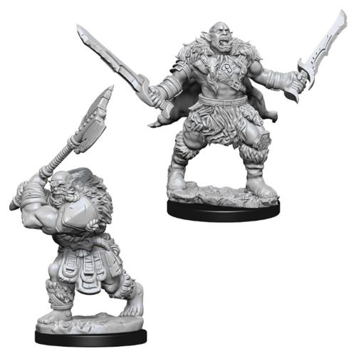 Wizk!ds Unpainted Miniatures- Orcs (Pathfinder)