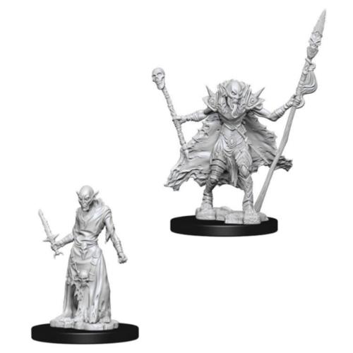 Wizk!ds Unpainted Miniatures- Ghouls (Pathfinder)