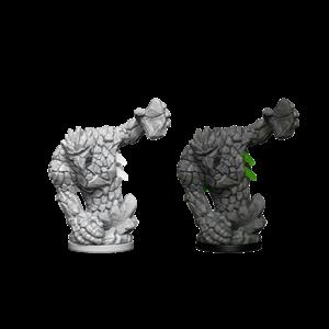 Wizk!ds Unpainted Miniatures- Medium Earth Elemental