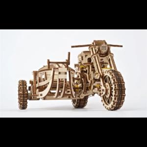 Ugears Ugear- Scrambler UGR-10 Motor met zijspan