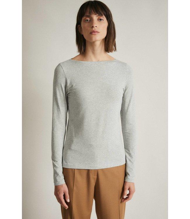 Lanius Top UBootshirt GOTS Grey