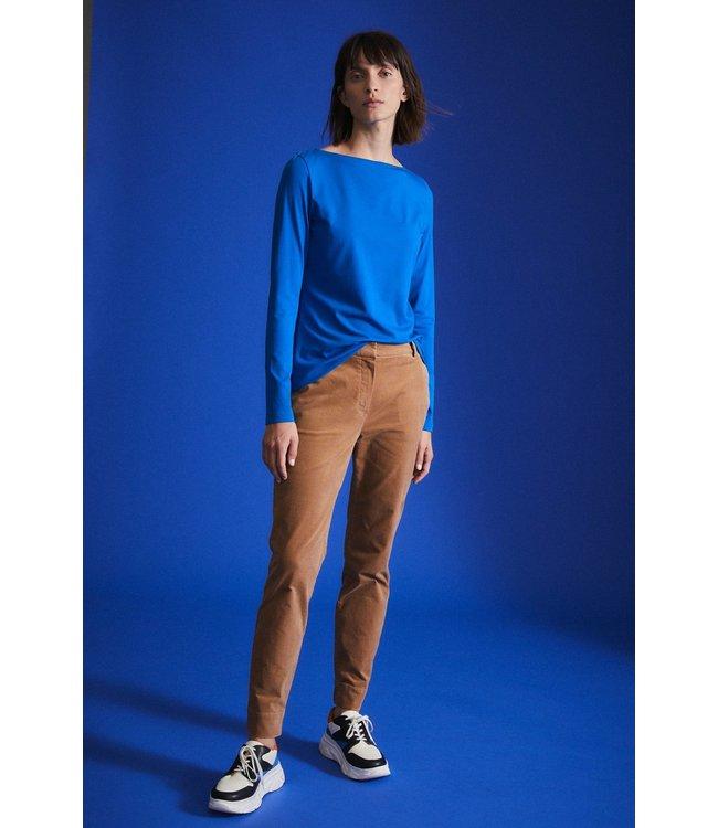 Lanius Top UBootshirt GOTS Electric blue