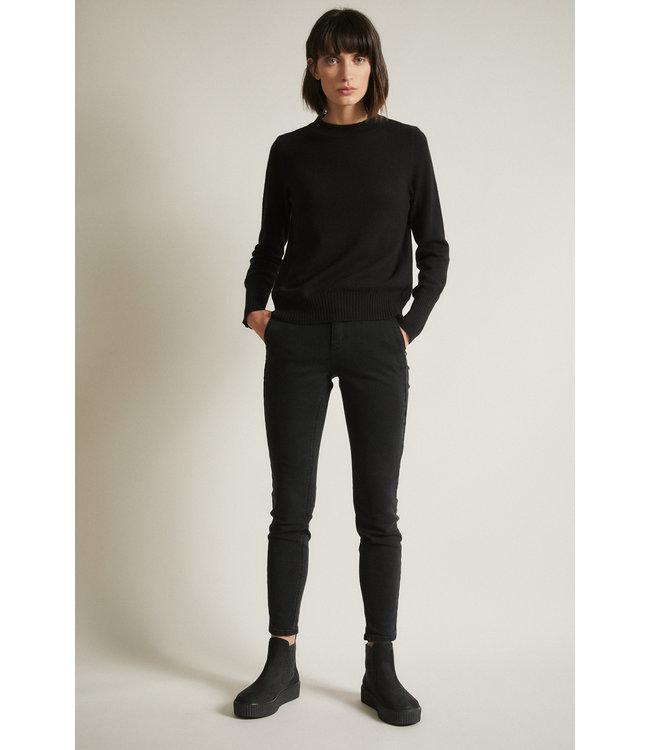 Lanius Broek High-Waist jeans black