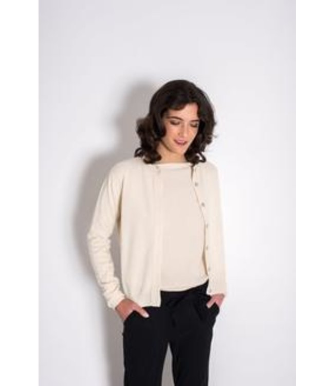 Bellamy Cashmere Vest Suzanna Off white