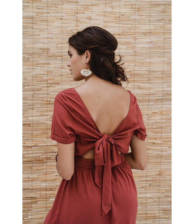 J-Label Maxi dress Radhika Berry