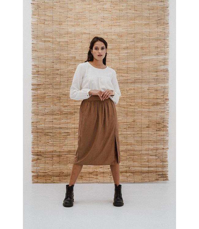 J-Label Midi Skirt Bodhi Camel