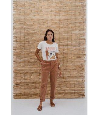 J-Label T-shirt Pooja Off white