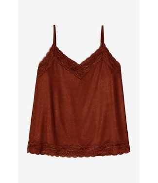 Bellamy Top Lucy Red Brown