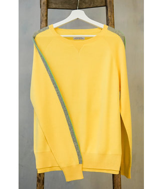 DOUXXX Sweater Striped Sunny Yellow