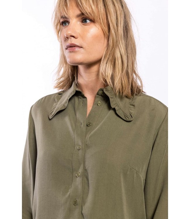 Elements of Freedom Blouse Juul army green