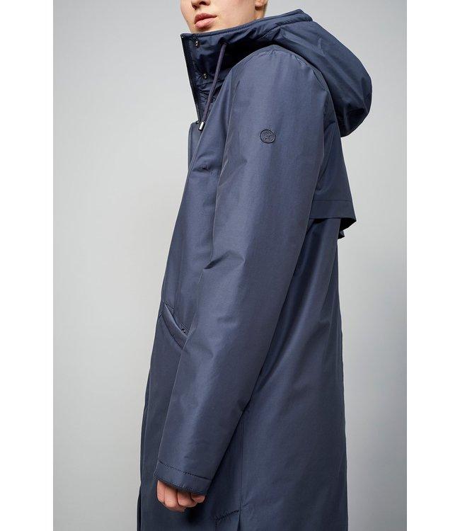 Langerchen Coat Milport padded Steel Blue