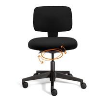 Bureaustoel Hopp Zwart | Actief Zitten