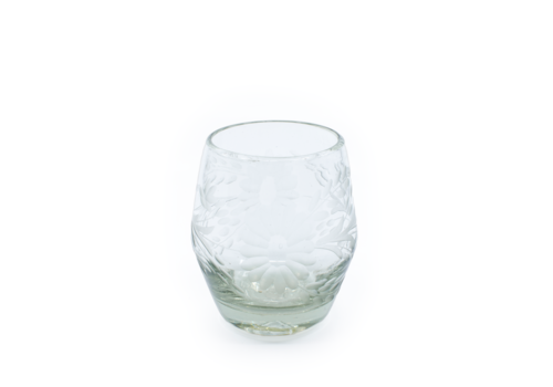 Cobalto Wine Glass Flores