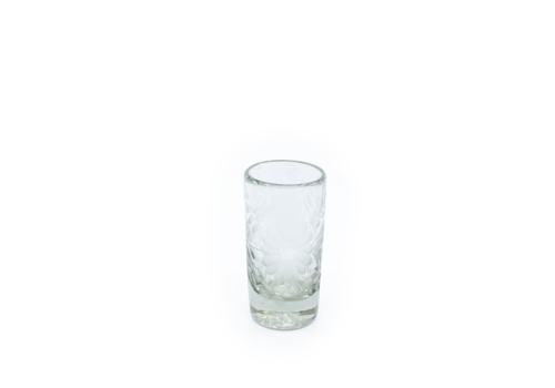Cobalto Shot Glass Flores