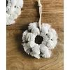 Blanco Crudo Cotton Snow Flake Hoop - Small