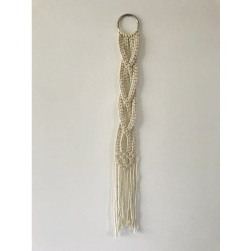 Braided Macrame Wall Decoration