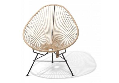 Silla Acapulco Acapulco Lounge Chair Black/Hemp
