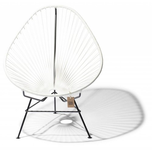 Acapulco Lounge Chair Black/White