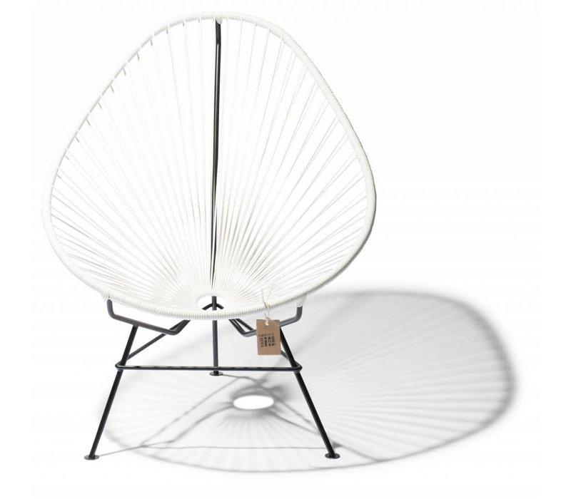 Acapulco Lounge Chair Black/White
