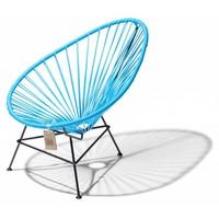 Acapulco Lounge Chair Black/Heaven Blue