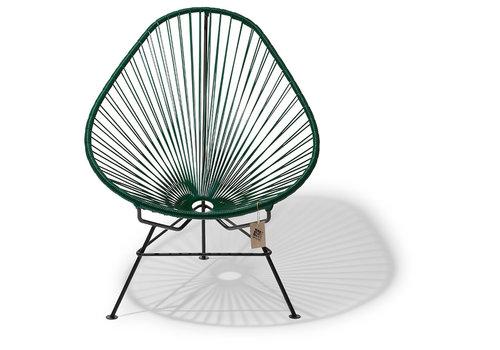 Silla Acapulco Acapulco Lounge Chair Black/Dark Green